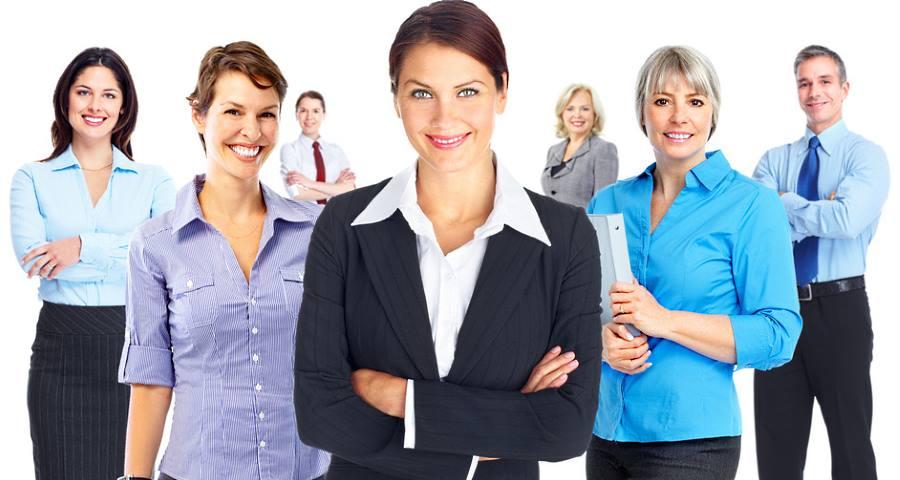 Arlette Berger hat eine klare Kundengruppe - Unternehmer und Unternehmerinnen